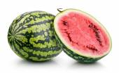 Watermelon isolated on white — Stock Photo