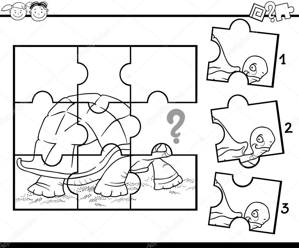 Game Para Colorear: Rompecabezas De Preescolar Para Colorear Juego
