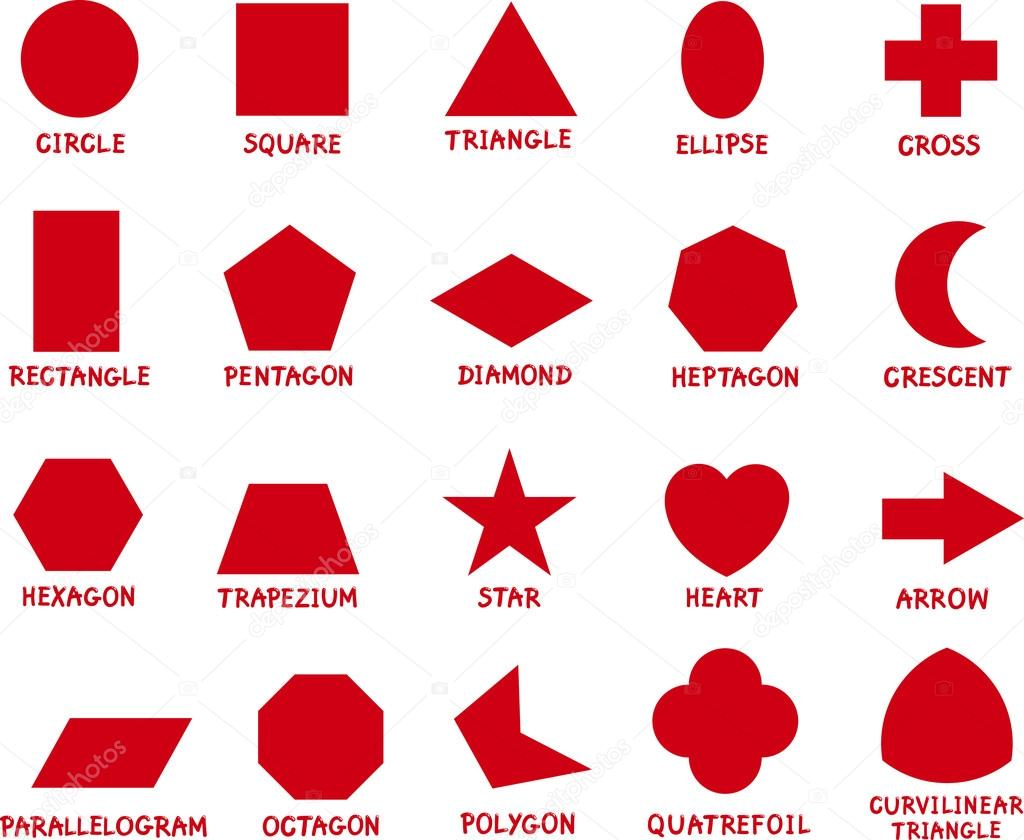 Fotos e nomes de todas as figuras geometricas 28