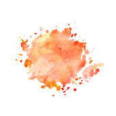 Watercolo red splash — Stock Vector