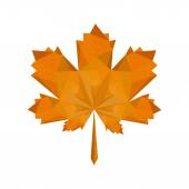Autumn oak leaf — Stock Vector