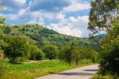Countryside in Hunedoara county — Stock Photo