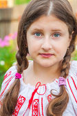 10 year old girl — Stock Photo