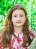 10 year old girl — Stock Photo