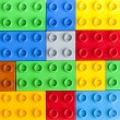 Lego colorful plastic blocks background — Stock Photo #63731331