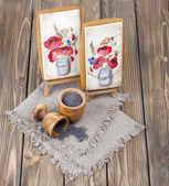 Summer gingerbread — Stock Photo