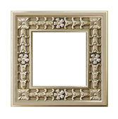 Dekorativní zlatý rám — Stock fotografie