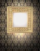 Decorative gold frame — Stock Photo