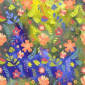 Textura de flores — Vetor de Stock