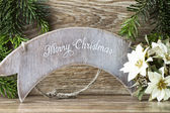 Christmas greeting card. — Stock Photo