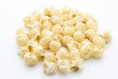 Popcorn isolated on the white background. — Stock Photo