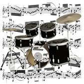 Percussionists — Stock Photo