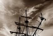 Art ship — Stock Photo