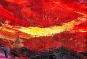 抽象的な赤と黄色の背景 — ストック写真