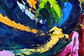абстрактный фрагмент живописи — Стоковое фото