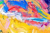 Abstract oil painting fragment — Stock Photo