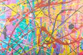 Abstract painting background illustration — Stock Photo