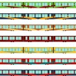 Hi-speed train — Stock Vector #55829003
