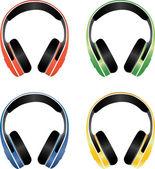 Kopfhörer — Stockvektor