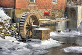 Mill water wheel 510 — Stock Photo