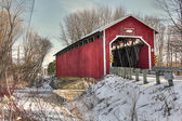 Covered bridge 40 — Stock Photo