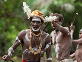 Asmat warriors — Stock Photo