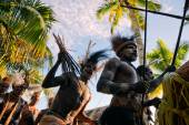 Asmat Doroe Ceremony — Stock Photo