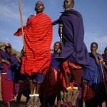 Masai warrior dance. — Stock Photo #72491983