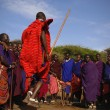 Masai warrior dance. — Stock Photo #72492047