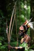 The Leader  of a Yafi tribe — Stock Photo