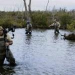 Photographers with photoequipment — Stock Photo #73394707