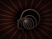 Computing ziel geometrie — Stockfoto