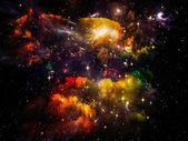 Space Visualization — Stock Photo
