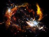 Space Nebula — Stok fotoğraf