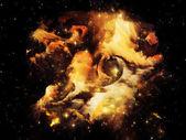 Shining Nebula — Stock Photo