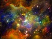 Vivid Space — Stock Photo