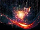 Machine logica — Stockfoto
