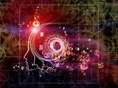 Glow of Geometry — Stock Photo