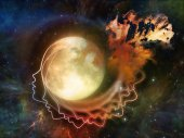 Synergies of the Moon — Stock Photo