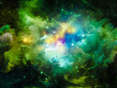 Inner Life of Nebula — Foto Stock
