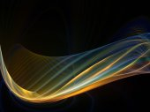 Fractal Waves Composition — Stock Photo