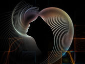 Synergies of Soul Geometry — Stock Photo
