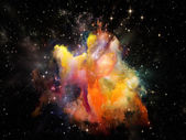 Painted Space — Stock Photo