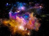 Emergence of Space — Stockfoto