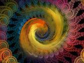 Spiral arka plan. — Stok fotoğraf