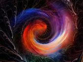 Sfondo spirale. — Foto Stock