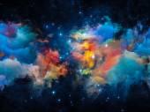 Evolving Nebula — Stock Photo