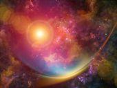 Nebula Background — ストック写真