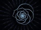 魂の幾何学のパラダイム — ストック写真
