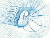 Rozvíjející duše geometrie — Stock fotografie